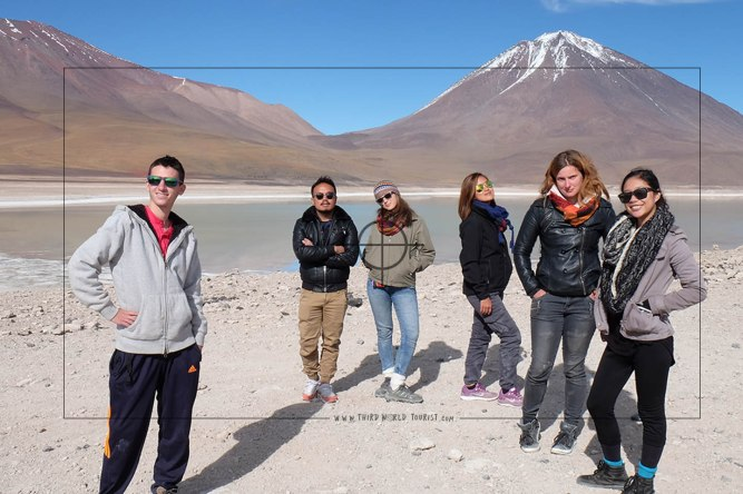 With Italians and Germans in Bolivia